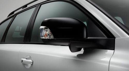 Rear View Mirror Casings, Glossy Black Finish, Black Stone, XC90 2008 - 2014